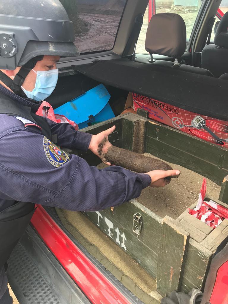 Intervenție a pirotehniștilor la Tulcea: element de muniție neexplodată!