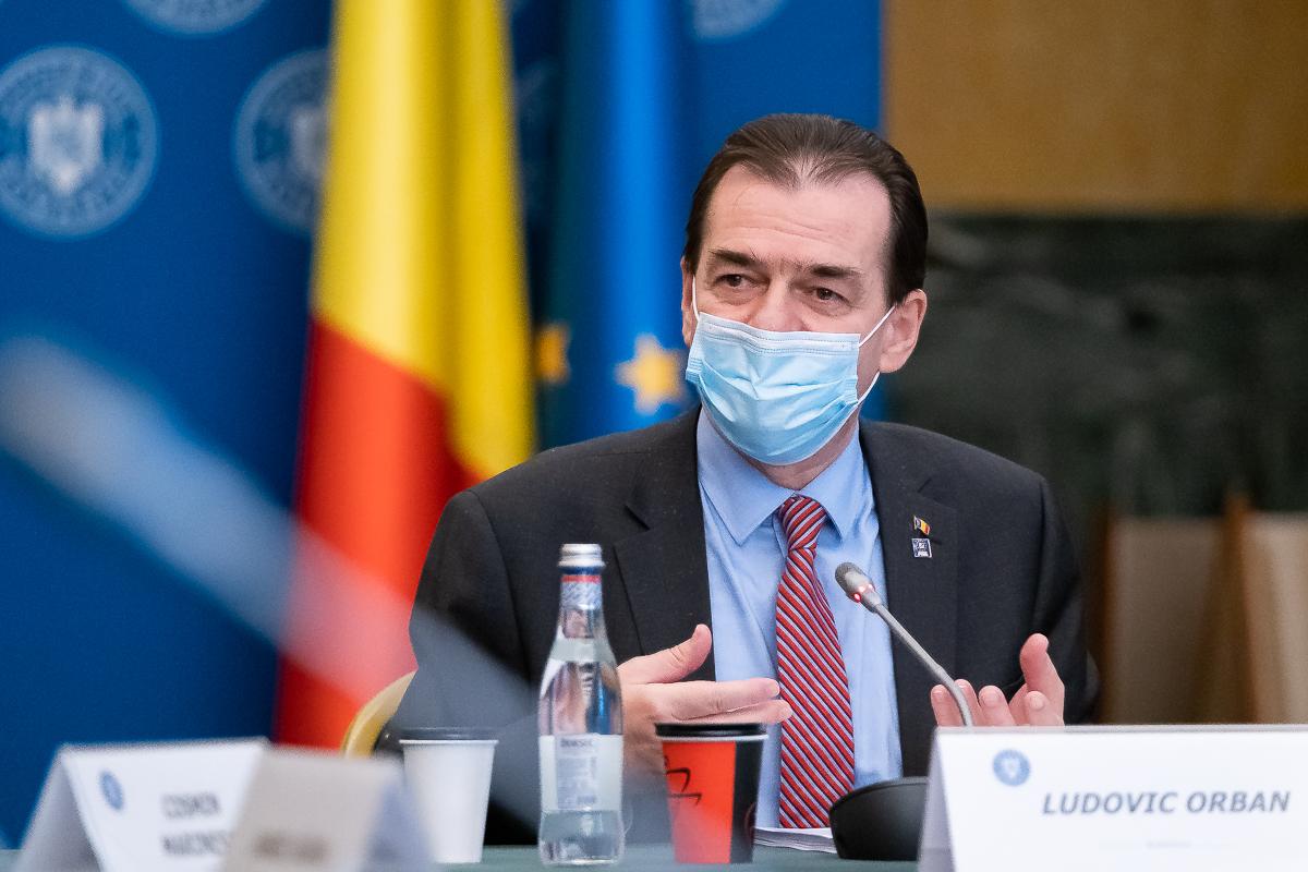 """""""Nu avem avizul Consiliului Legislativ pe proiectul privind prelungirea stării de alertă""""-Ludovic Orban"""