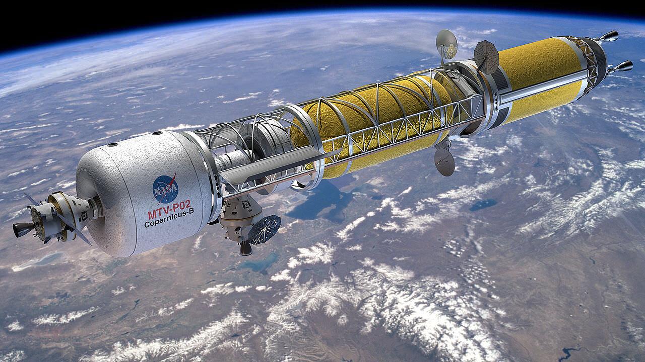 Următorii astronauți ar putea ajunge pe Lună cu rachete nucleare