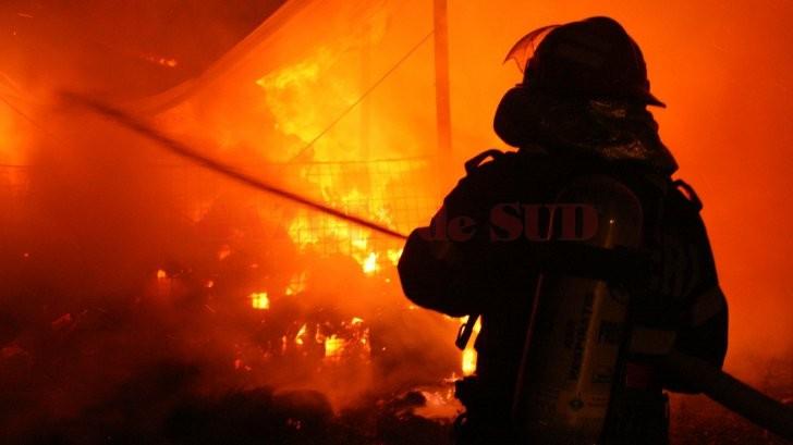 Incendiu la sediul unei firme din Târgu-Jiu – GAZETA de SUD