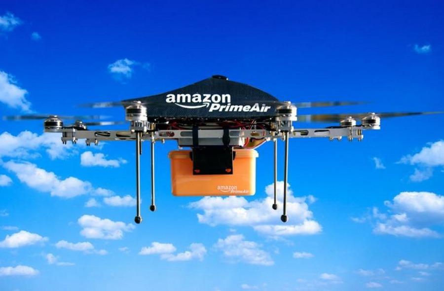 Viitorul e aici: Amazon va face livrări cu drone, care pot parcurge 24 de kilometri în 30 de minute (VIDEO)