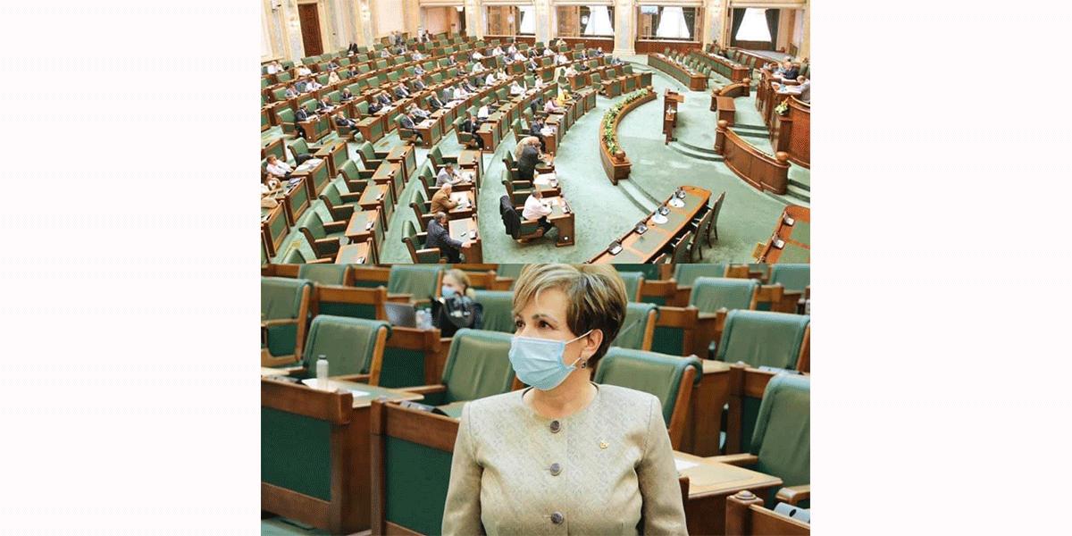 Emilia Arcan a votat împotriva ordonanţei care prevede vânzarea la bucată a ultimelor companii cu capital de stat ©