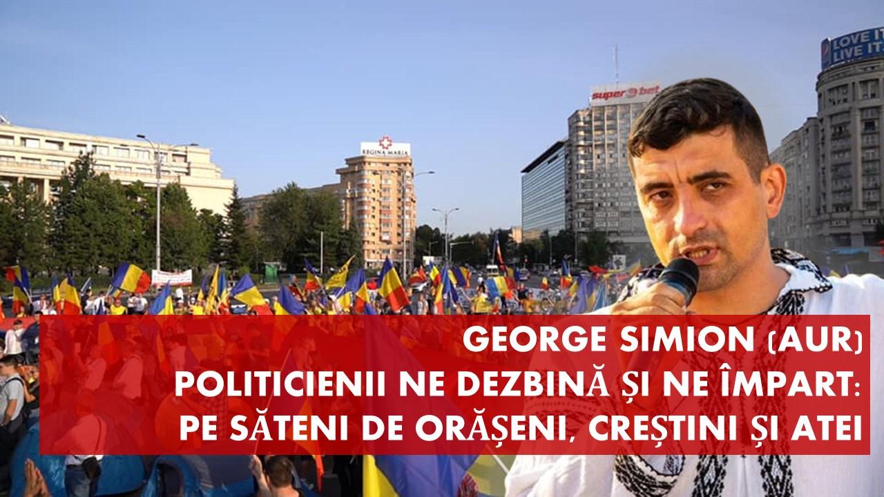 George Simion legat de pelerinaj: toți politicienii vor să ne dezbine
