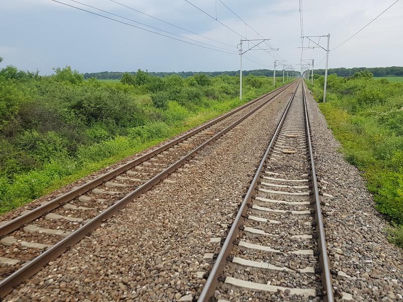 Patru vagoane ale unui tren au deraiat în Drobeta Turnu Severin