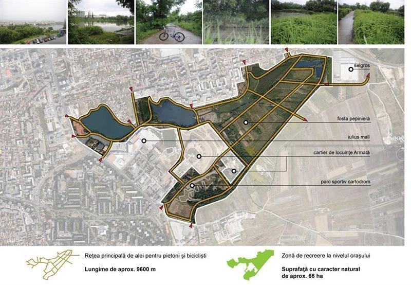 VERDE pentru Parcul Est! Vom afla cum vor fi amenajate cele 46 de hectare la început de 2021