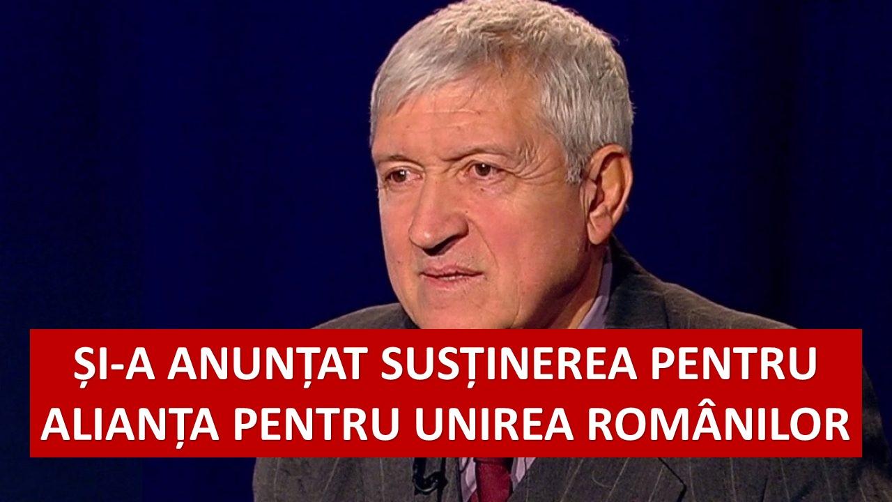 Actorul Mircea Diaconu și-a anunțat susținerea pentru Alianța pentru Unirea Românilor