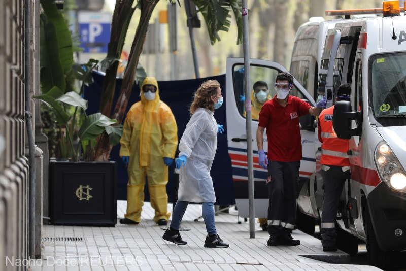 Coronavirus: Spania a atins pragul de un milion de cazuri de COVID-19, o premieră în Europa