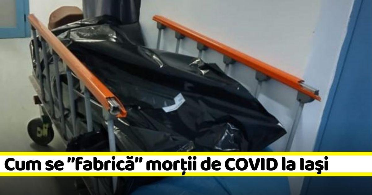 """Mort în accidentul auto de la Lețcani, trecut """"Covid"""" în certificat, deși era negativ"""