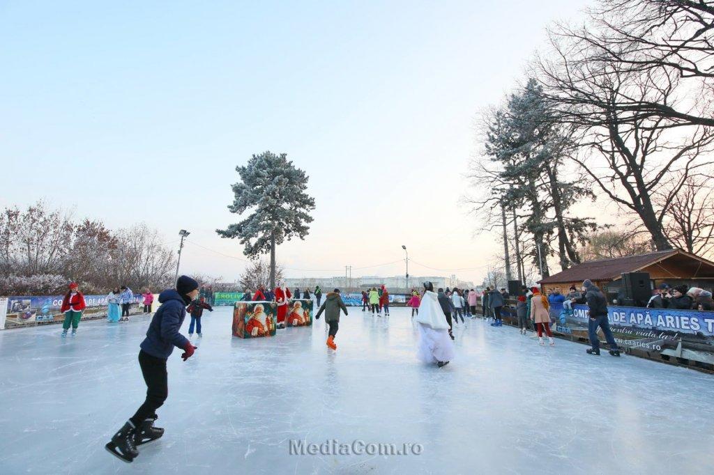 Turda va avea patinoar de Crăciun. Nu și târg