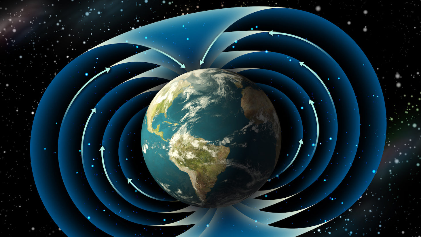 Polul magnetic al Pământului se deplasează spre Siberia. Dar de ce?