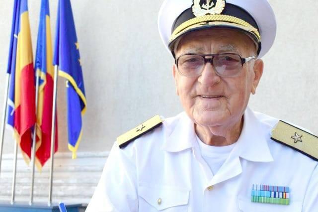 A DECEDAT contramiralul de flotilă în retragere Niculae Ștefan