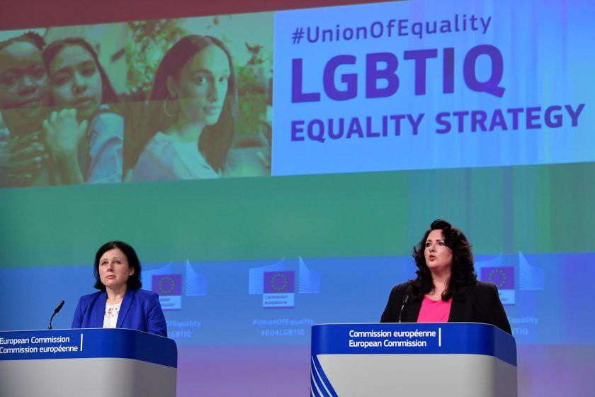 Comisia Europeană a prezentat prima strategie a UE privind egalitatea pentru persoanele LGBTIQ
