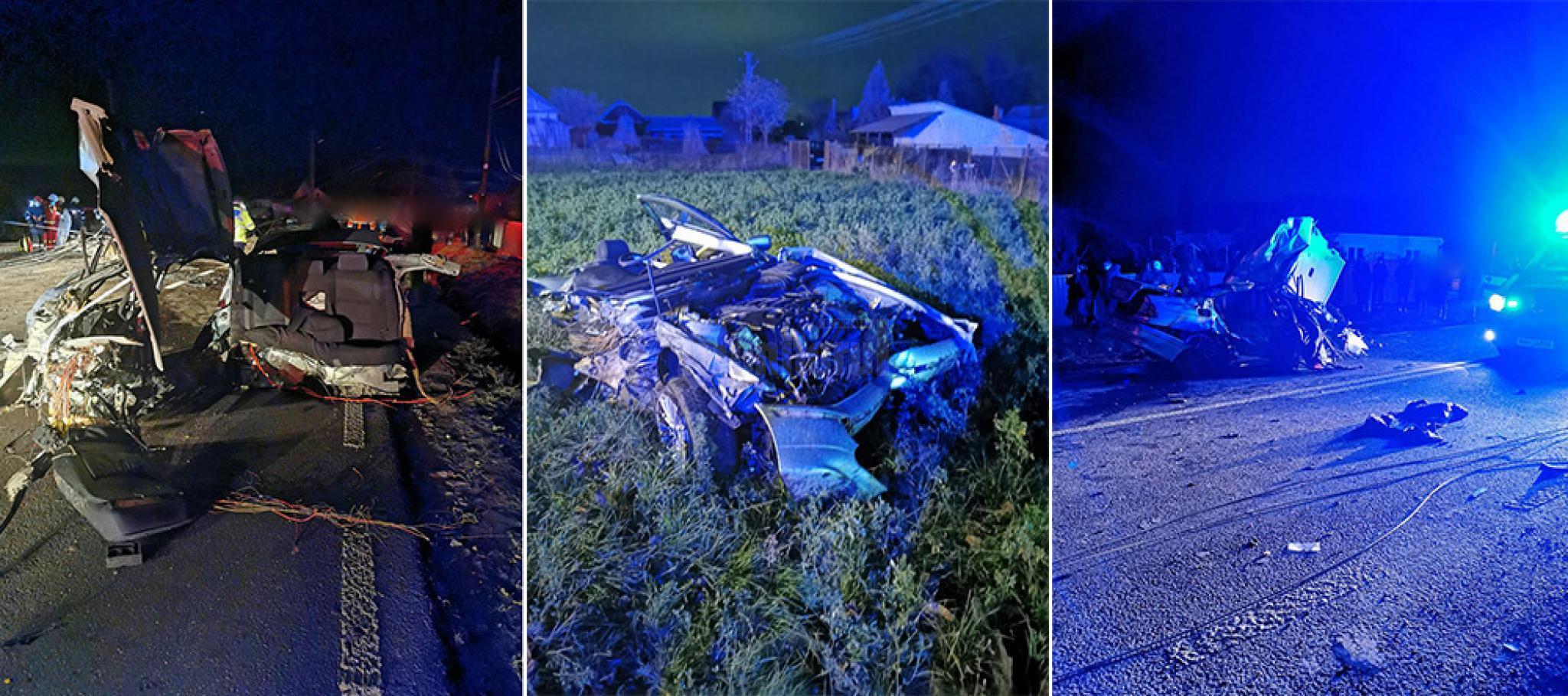 Un tanar de 20 de ani din Badeuti a murit dupa ce s a izbit cu masina intr un stalp de electricitate