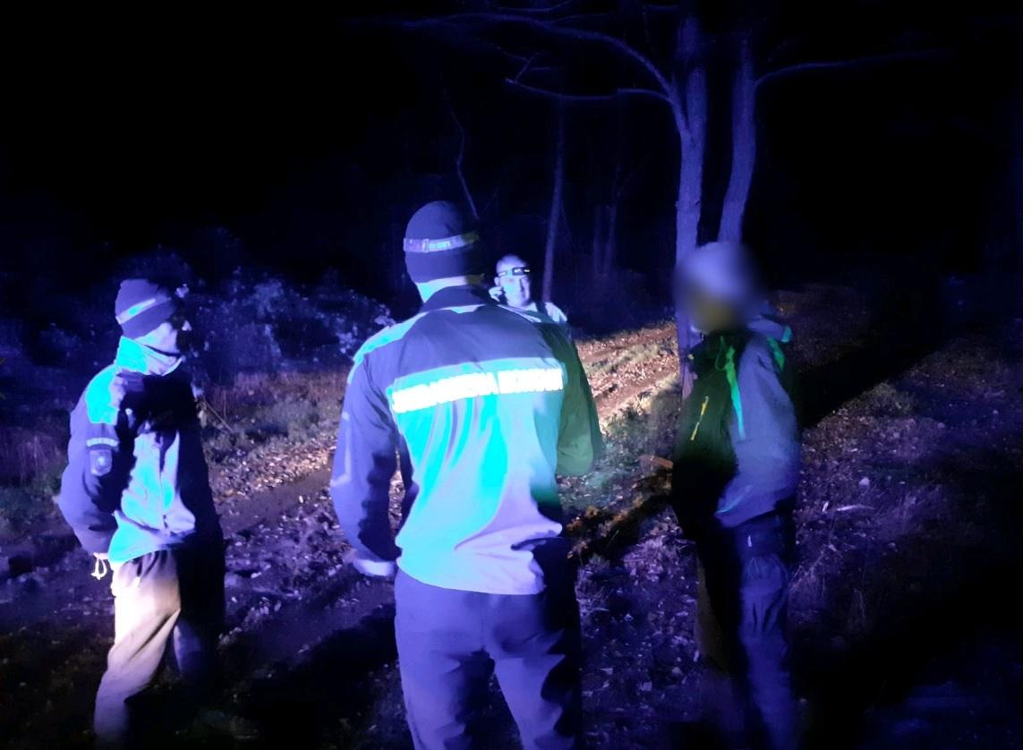 Un tulcean rătăcit în munții Coziei, salvat de jandarmi și salvamontiști