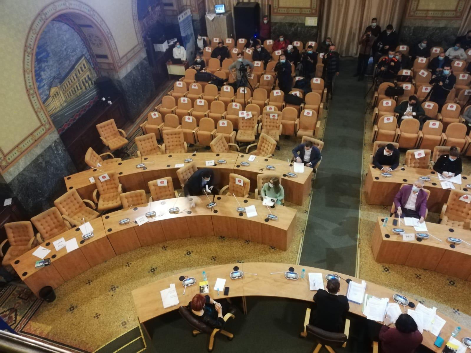 Trădare în PNL la ședința CL Craiova. Un consilier a trecut în tabăra PSD și a schimbat majoritatea în favoarea stângii