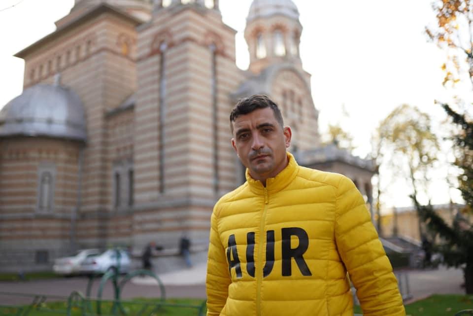 George Simion în Mureș: vom câștiga acest război(alegerile)