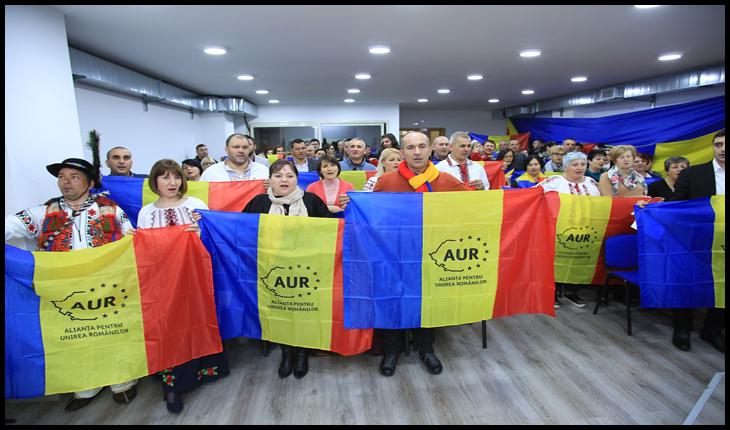 Sondaj. AUR, partidul patrioților români, cotat la 10% – CURIERUL ROMÂNESC