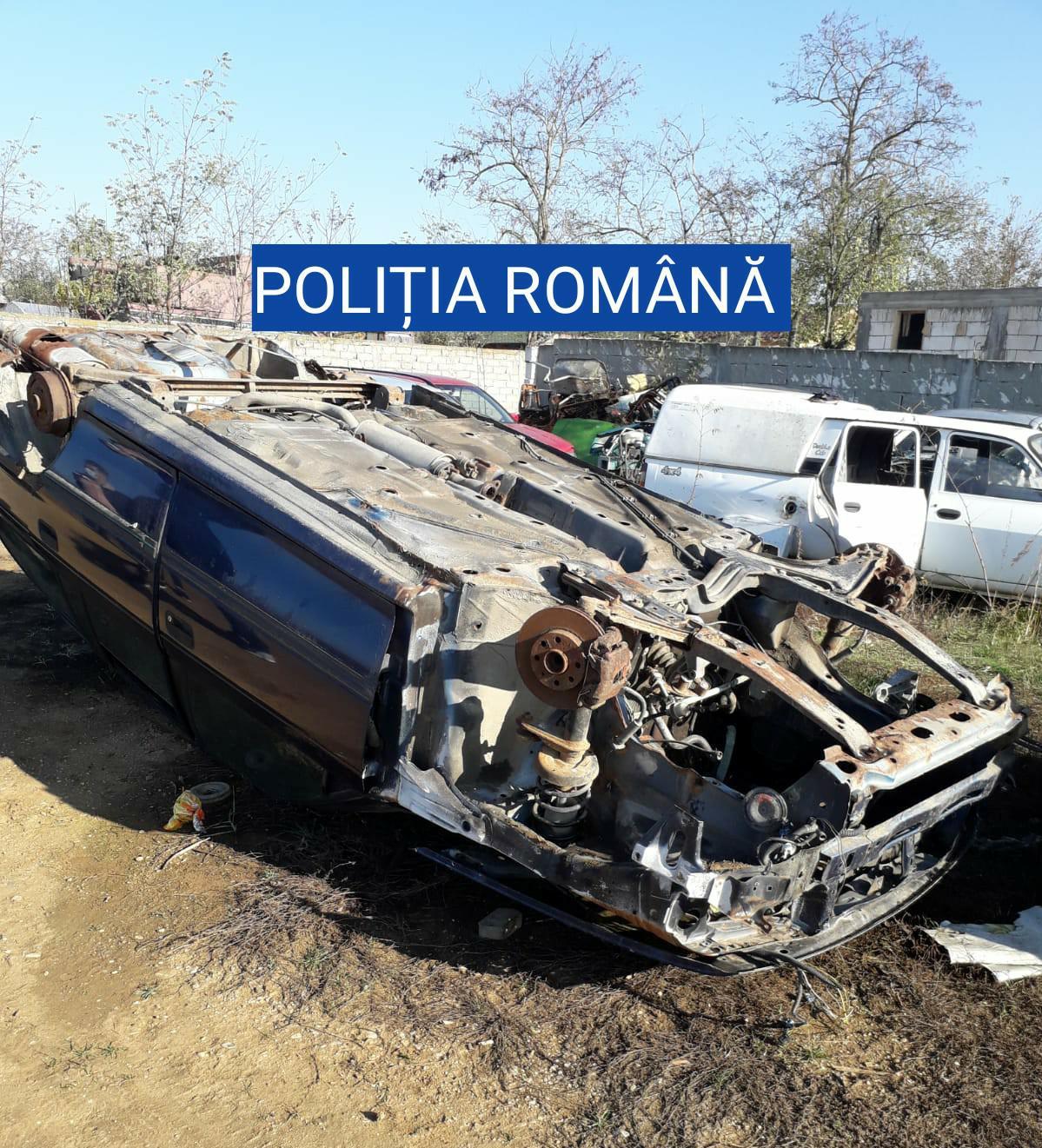 Olt: Dezmembra mașini și s-a trezit cu poliția în curte – GAZETA de SUD