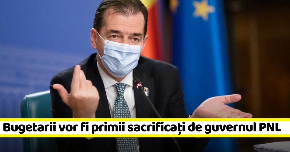 Planul premierului Ludovic Orban dacă rămâne fără bani: VA DA AFARĂ BUGETARI