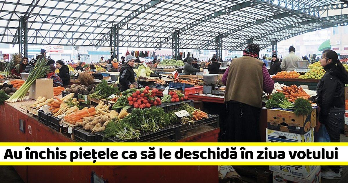 Iohannis anunță redeschiderea piețelor în acest weekend. Că vine ziua votului, așa-i?
