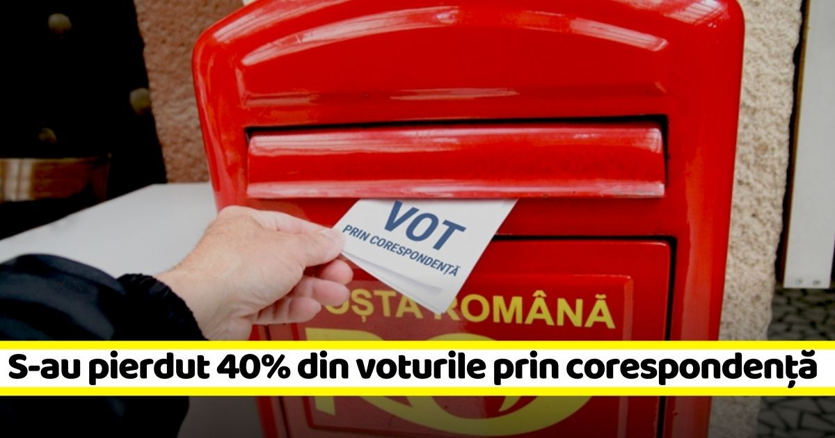 Primele nereguli! 14.000 de voturi prin corespondență din diaspora nu au fost validate