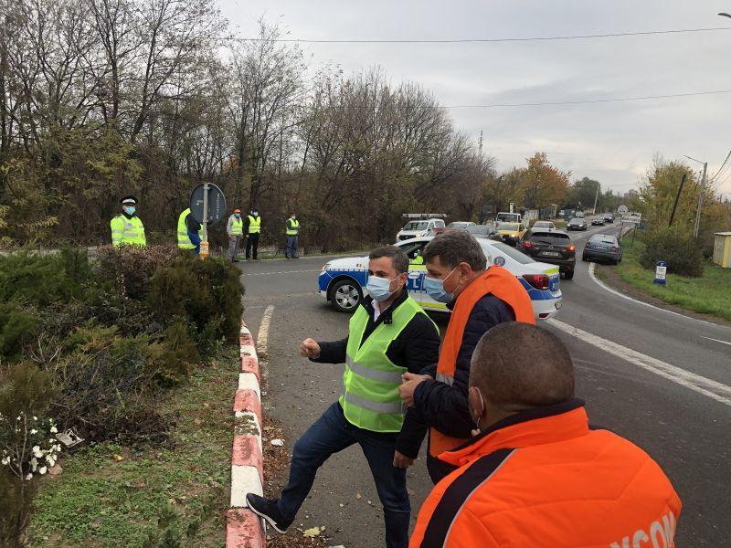 Un nou sens giratoriu în zona comunei Snagov.Siguranța conducătorilor auto este extrem de importantă! – Jurnalul de Ilfov