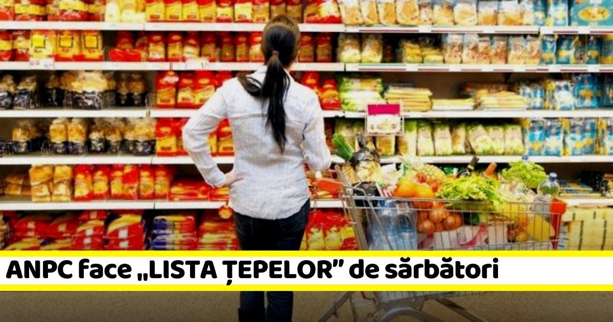 """Protecția Consumatorilor face """"LISTA ȚEPELOR"""" de sărbători"""