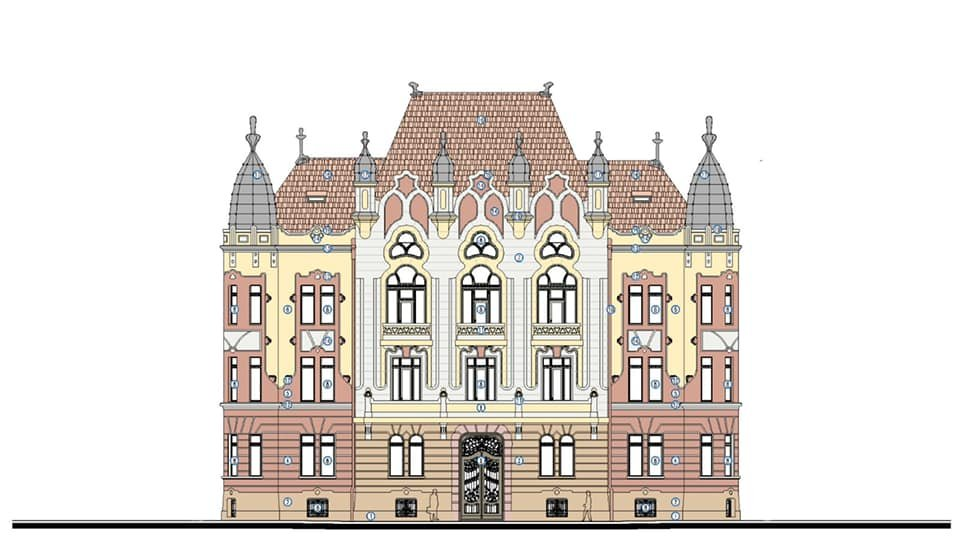 Se modernizează clădirea Prefecturii Cluj