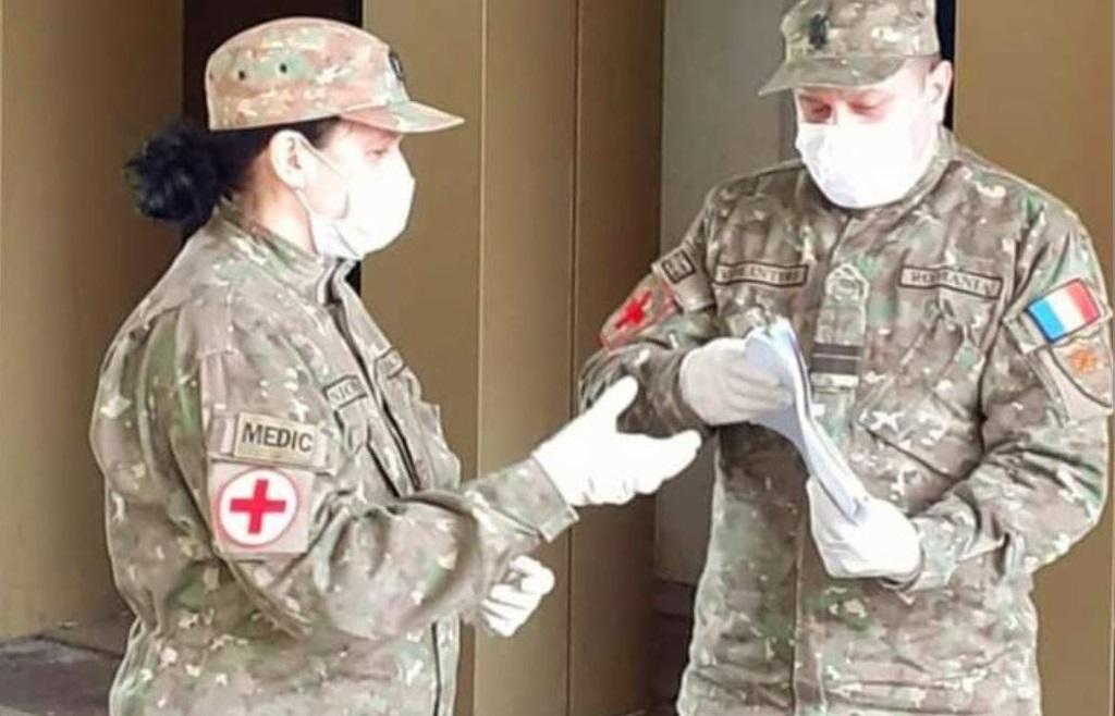 MApN: 600 de militari puși la dispoziția Direcțiilor de Sănătate Publică. Primii 230 de militari acționează, de marți, în 24 de județe