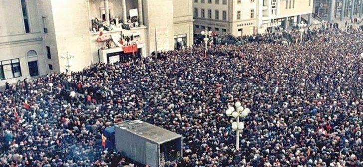 Atunci am fost cu adevarat uniti. Cum arata Timisoara in Decembrie 1989. Redescopera orasul de atunci in imagini emotionante. Video | OpiniaTimisoarei.ro
