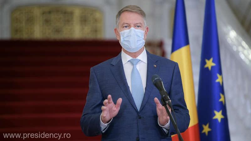 Klaus Iohannis: Restricțiile vor fi păstrate de Sărbători