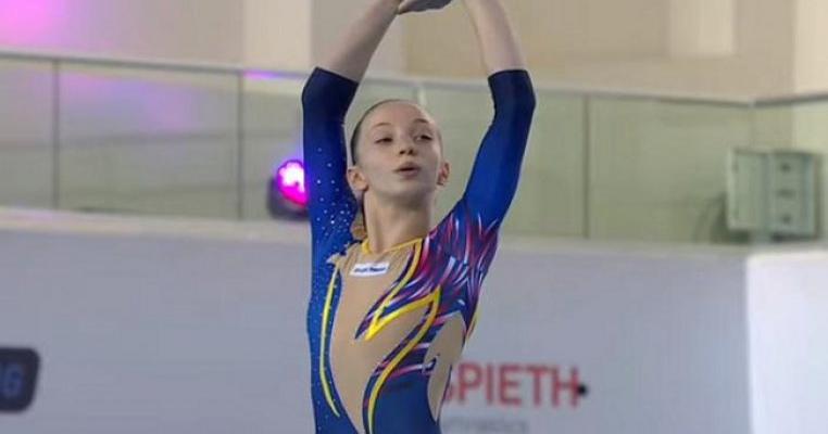 Copil minune! Ana Maria Bărbosu a câştigat toate medaliile de aur la Campionatul European de Gimnastică, la numai 14 ani