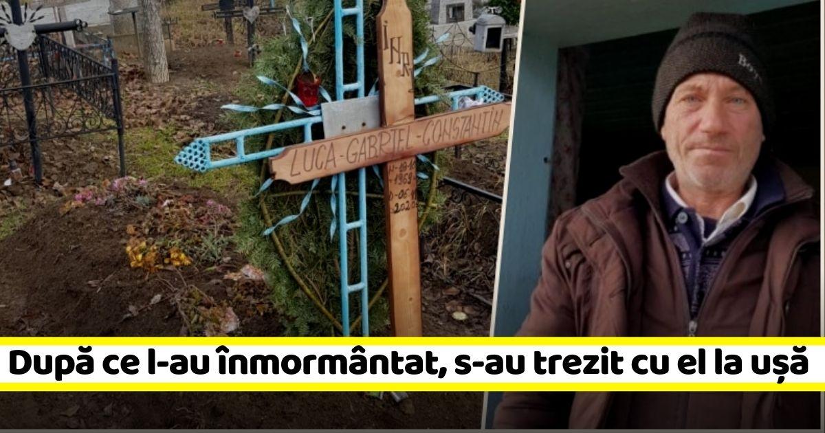Caz straniu în Iași! Un bărbat înmormântat a apărut după o săptămână la poarta familiei sale (FOTO)