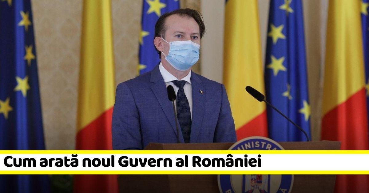 Cum arată noul Guvern al României. Lista miniștrilor