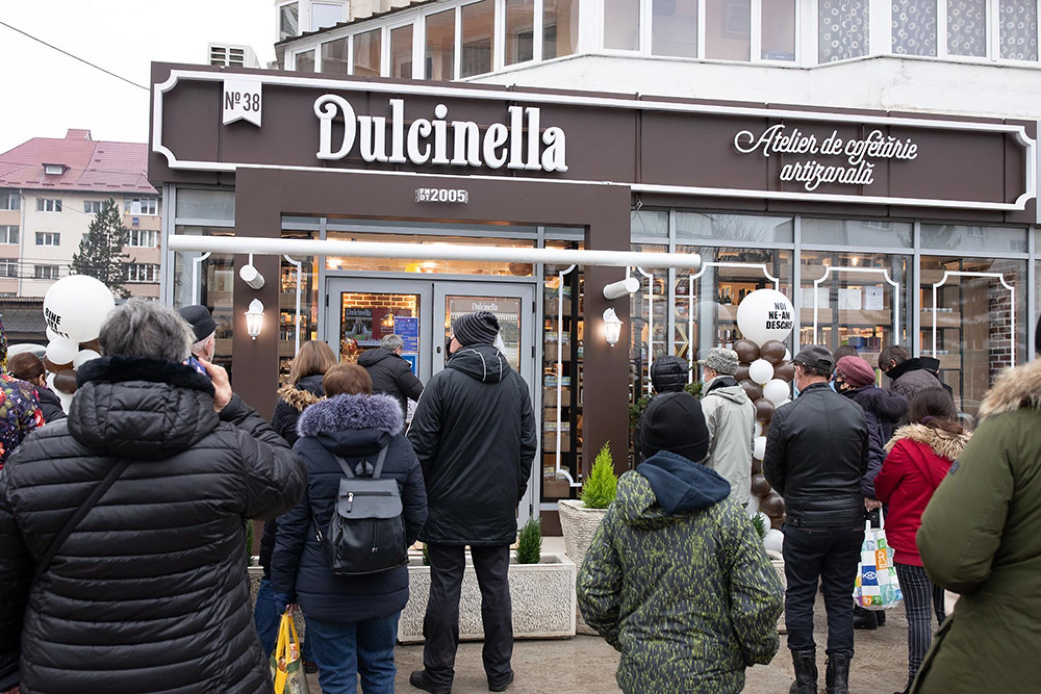 Dulcinella le face zile dulci de sarbatori sucevenilor prin deschiderea primului Atelier de Cofetarie Artizanala la Suceava