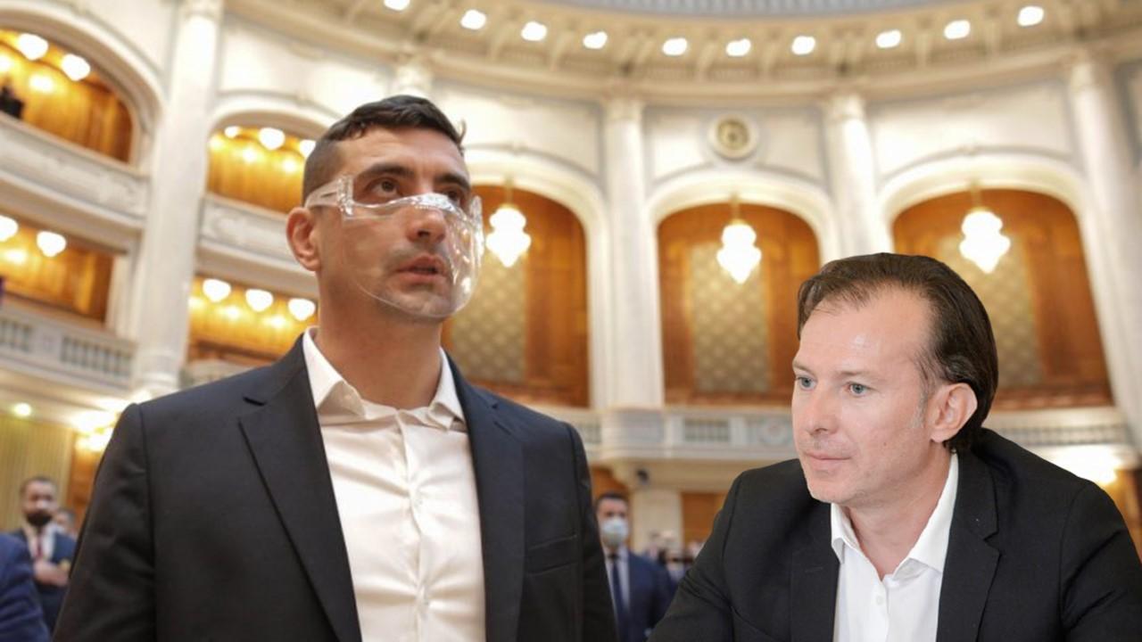 Toți parlamentarii AUR au votat împotriva guvernului Cîțu