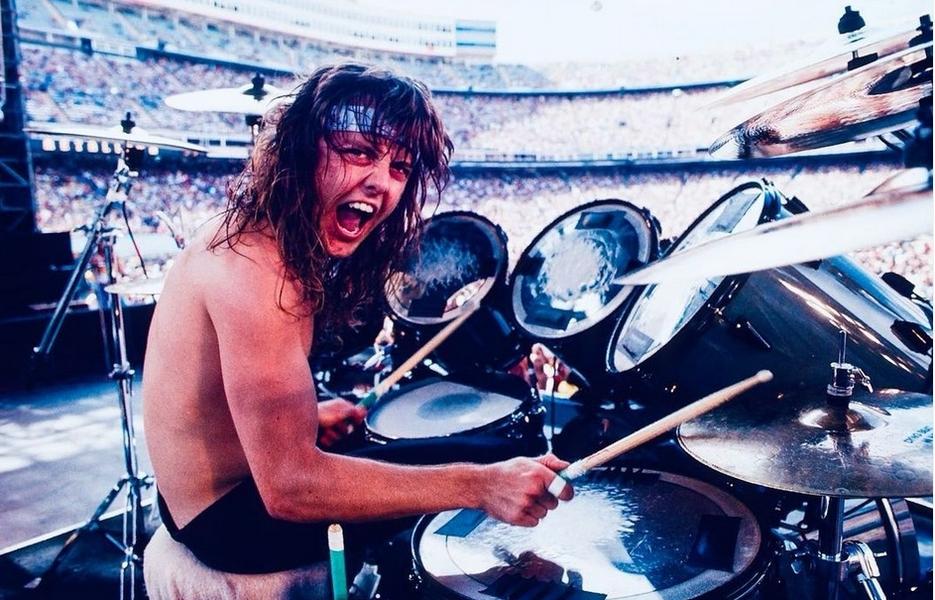 FOTO Lars Ulrich (Metallica), la 57 de ani – Poveste de viață cu trei căsnicii, tenis și mult rock