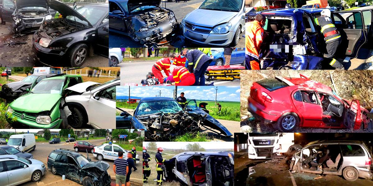 FOTO – Cele mai grave accidente rutiere din Neamț din anul 2020 ©