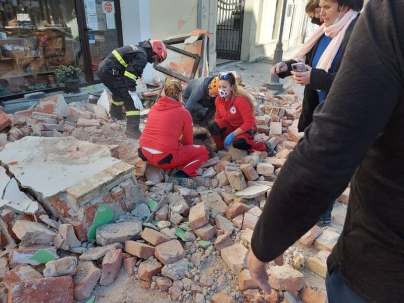 Cutremur puternic în Croația. Mai multe imobile s-au prăbușit