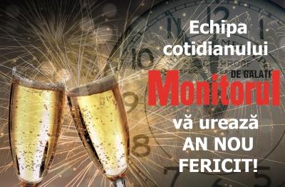 Cotidianul MONITORUL DE GALAŢI vă urează AN NOU FERICIT! – Monitorul de Galati – Ziar print si online