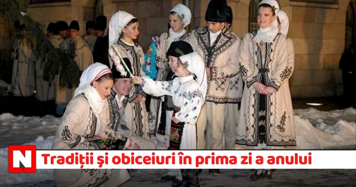 """1 ianuarie: Sfântul Vasile, """"păzitorul de duhuri rele"""". Tradiţii şi obiceiuri în prima zi a anului"""