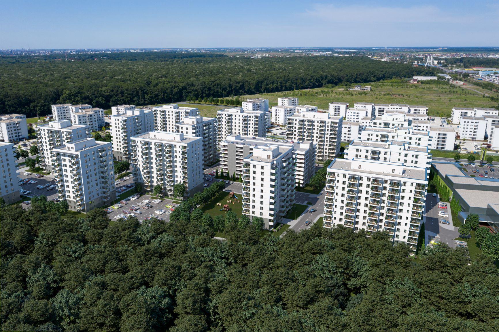Constructor ales pentru cinci blocuri de cate 10 etaje