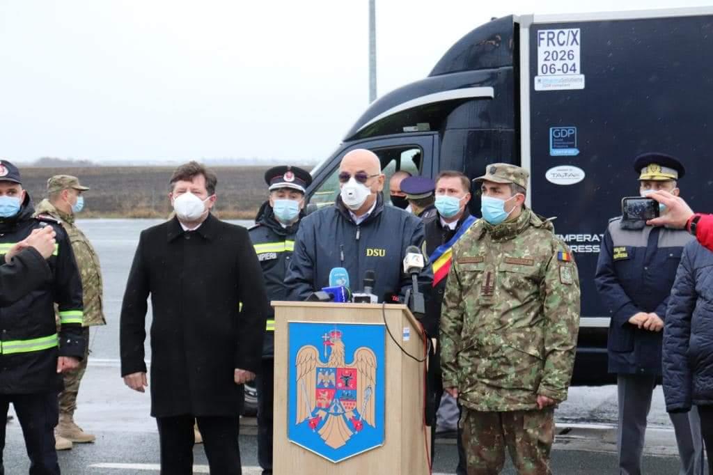 România a primit 10 000 doze, Franța 1 000 000. Lucian Bode spune că e moment istoric