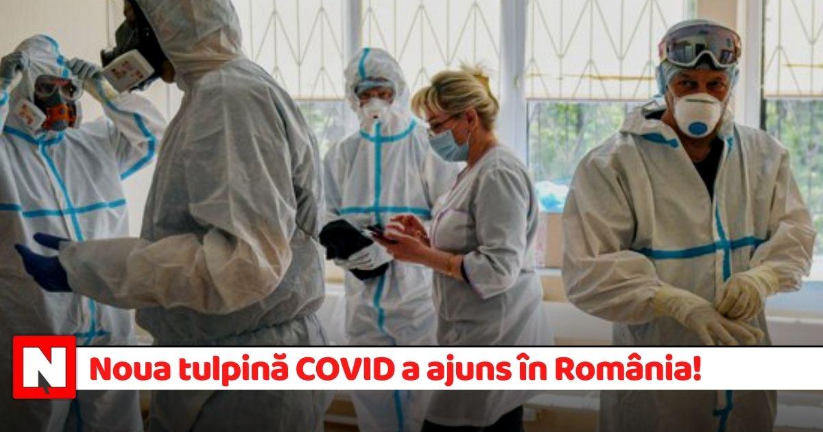 Noua tulpină a coronavirusului a ajuns în România