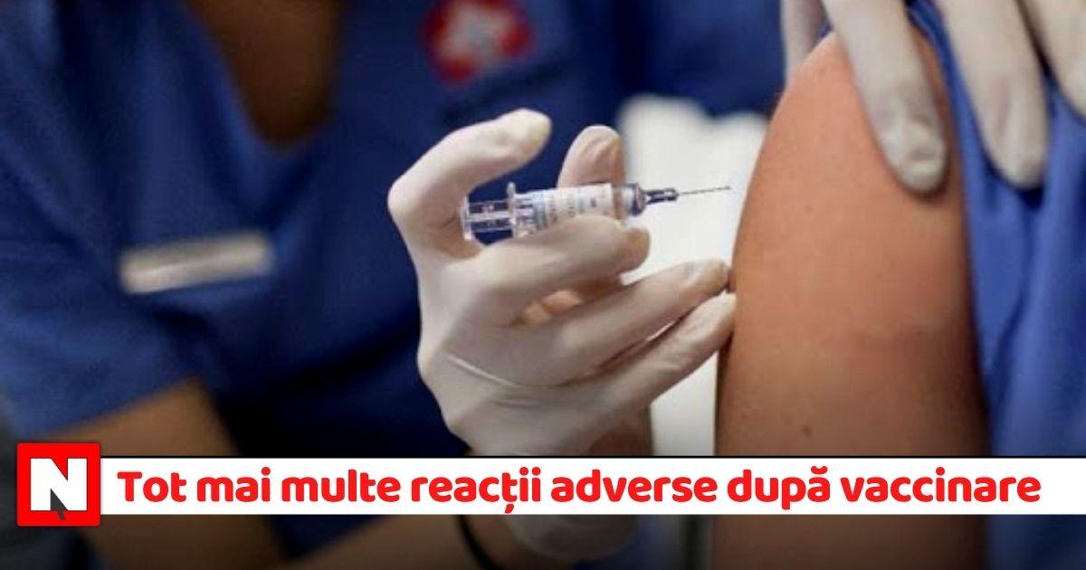 Tot mai multe reacții adverse resimțite de medicii care s-au vaccinat. Aproape 90 în ultimele 24 de ore