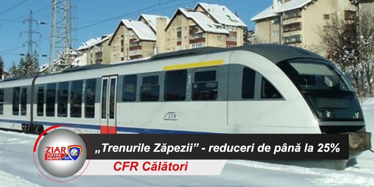 """CFR Călători a anunțat ofertele pentru """"Trenurile Zăpezii"""" 2021 ©"""