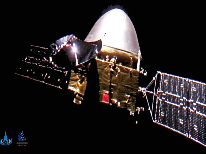 Sonda chineză Tianwen-1 va ajunge în 10 februarie pe orbita lui Marte