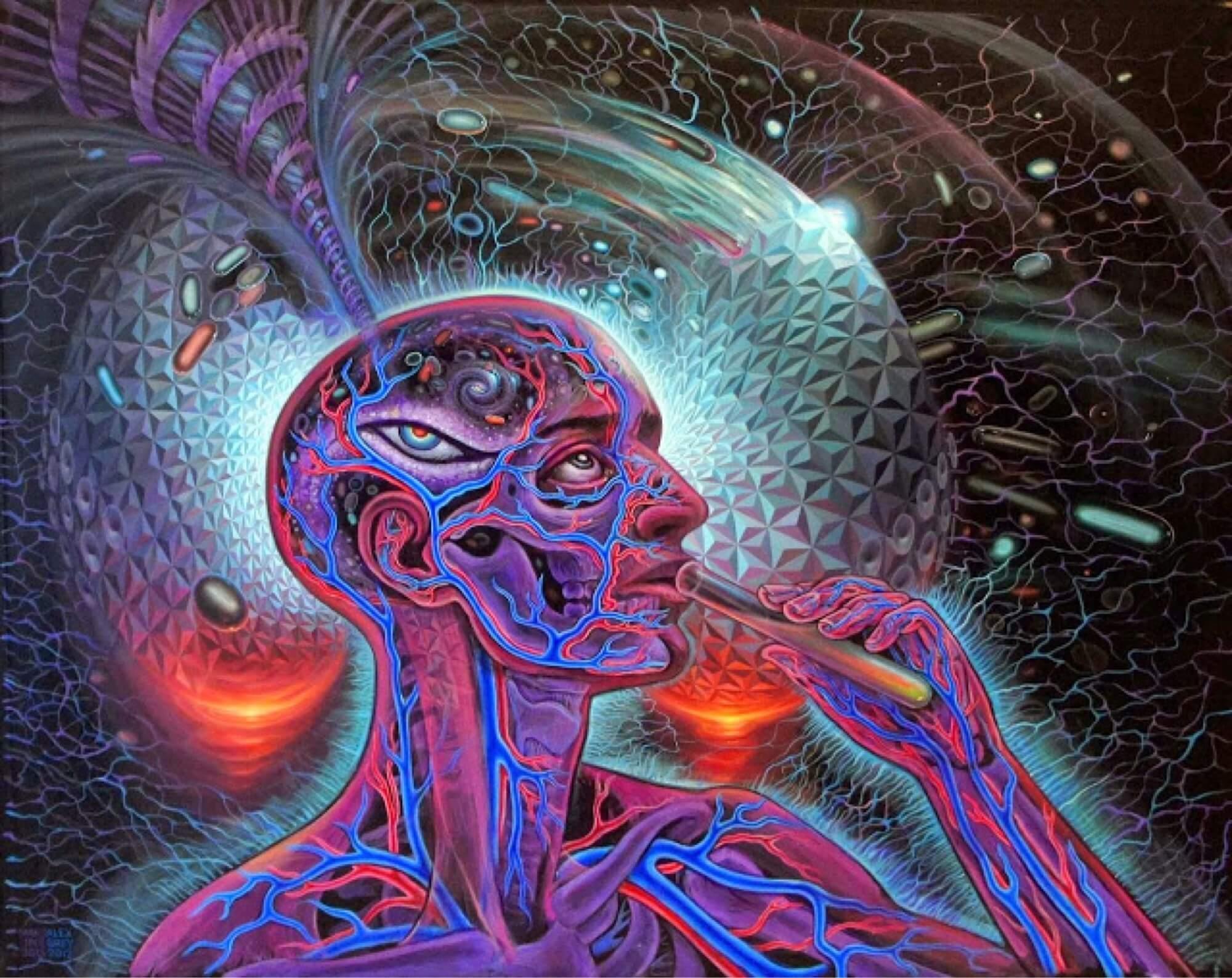 Cum funcționează creierul când luăm substanțe psihedelice