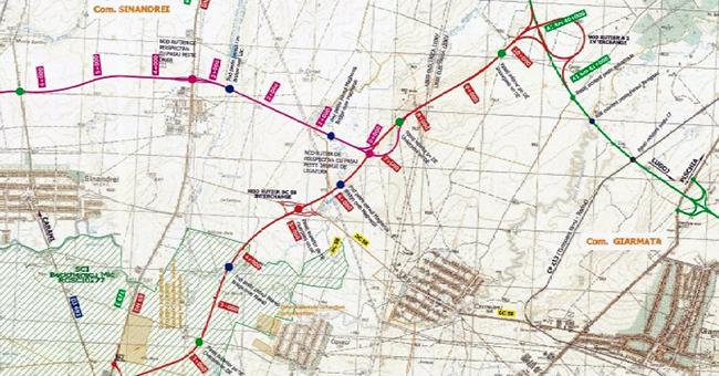 TODINI COSTRUZIONI GENERALI S.p.A. va construi drum de legătură dintre Autostrada A1 Arad – Timișoara și DN 69
