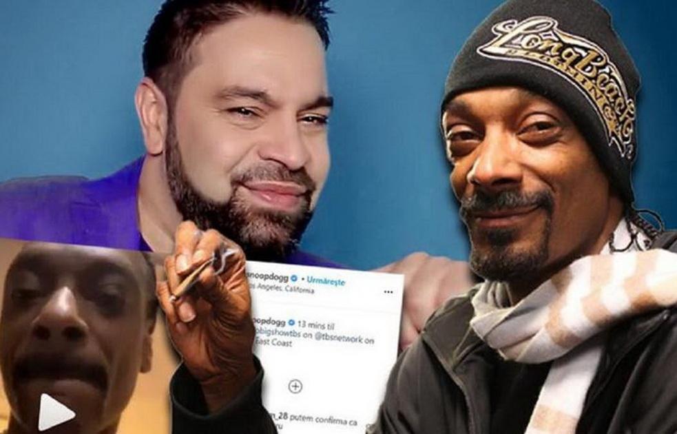 Rapper, fan de… Florin Salam! Snoop Dogg s-a filmat ascultând o manea românească (VIDEO)